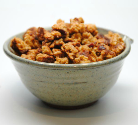 crunchy cereal like granola, good for breakfast and snacks. Pair with favorite cold milk or greek yogurt. Designed for health and progressive detoxification.